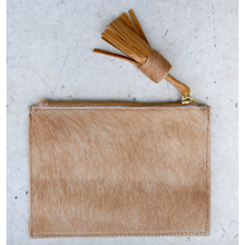 Load image into Gallery viewer, Leather Coin Purse - Plain Tan