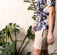 Load image into Gallery viewer, Linen Walk Shorts - Natural