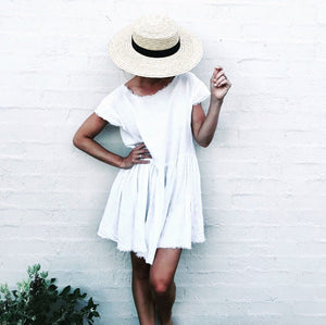 The Grace Dress - White