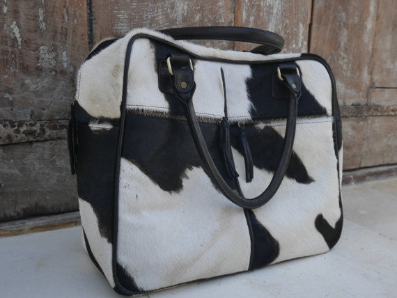 Travel Bag - Cowhide