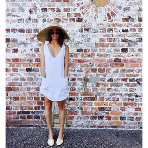 Drifter Dress - White