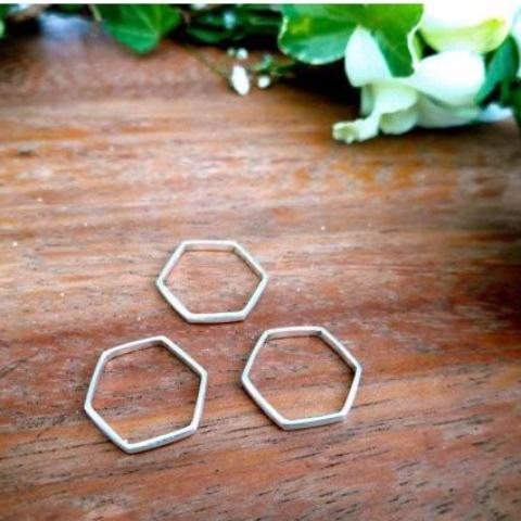 Hexagon Ring Stack