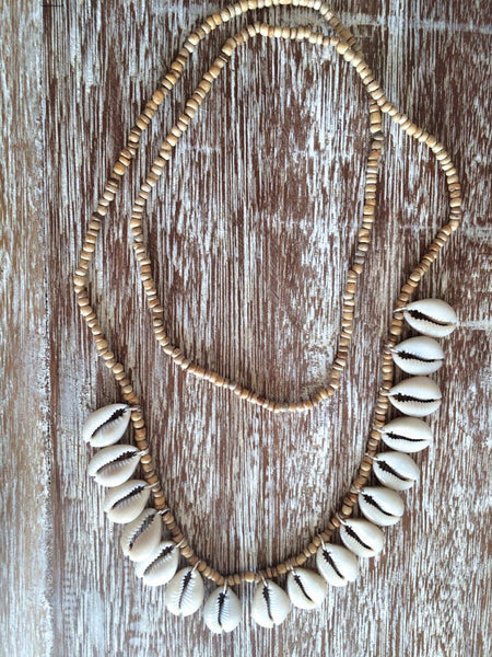 Tan Shell Necklace