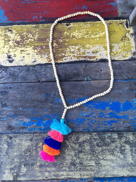 Tassel Stack Necklace