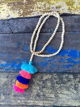 Load image into Gallery viewer, Tassel Stack Necklace
