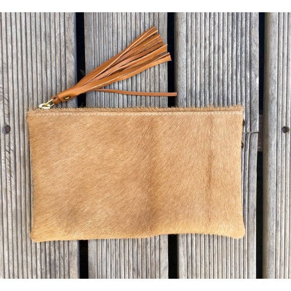 Hide Clutch - Small