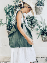 Load image into Gallery viewer, Linen Beach Bag