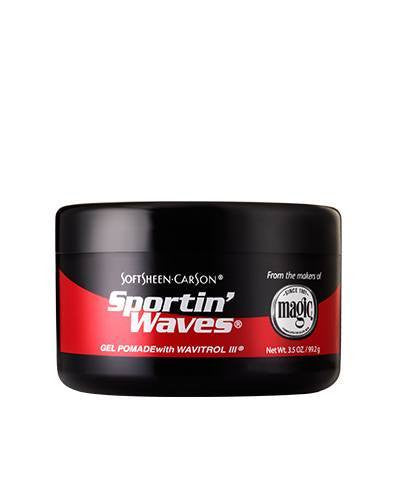 Softsheen Carson Magic Shave®Sportin Waves GEL POMADE 3.5 OZ