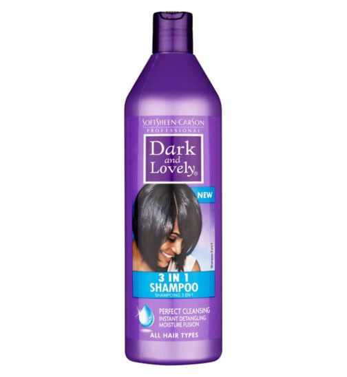 SoftSheen Carson Dark and Lovely 3 in 1 Shampoo