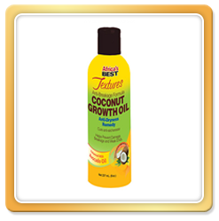 Africa's Best Textures Coconut Growth Oil 8oz