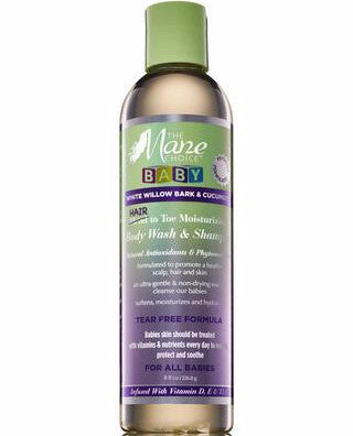 The Mane Choice White Willow Bark & Cucumber Baby Hair to Toe Wash & Shampoo 8oz