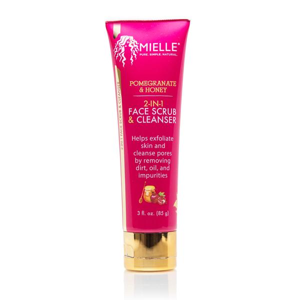 Mielle Organics Pomegranate & Honey 2-in-1 Face Scrub & Cleanser