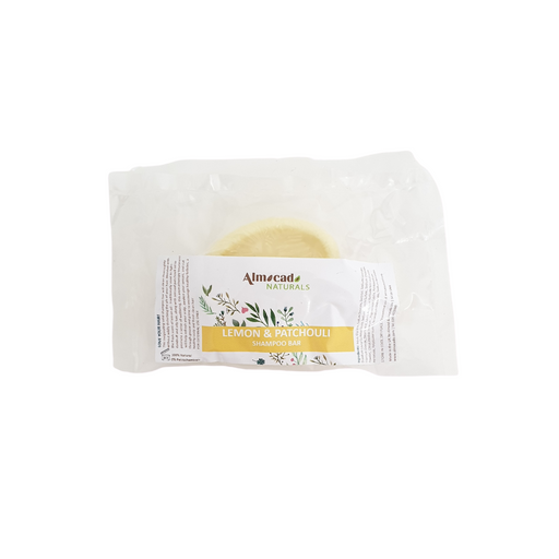 almocado lemon shampoo bar