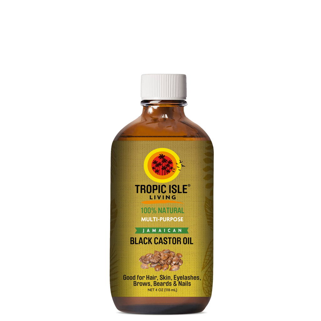 Tropic Isle Living Jamaican Black Castor Oil 4oz