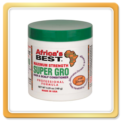 Africa's Best Maximum Strength Super Gro Hair & Scalp Conditioner 5.25oz
