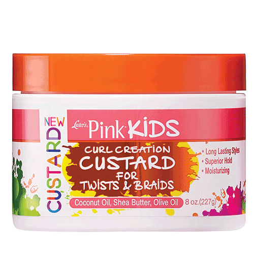 Lusters Pink® Kids Curl Creation Custard for Twists & Braids
