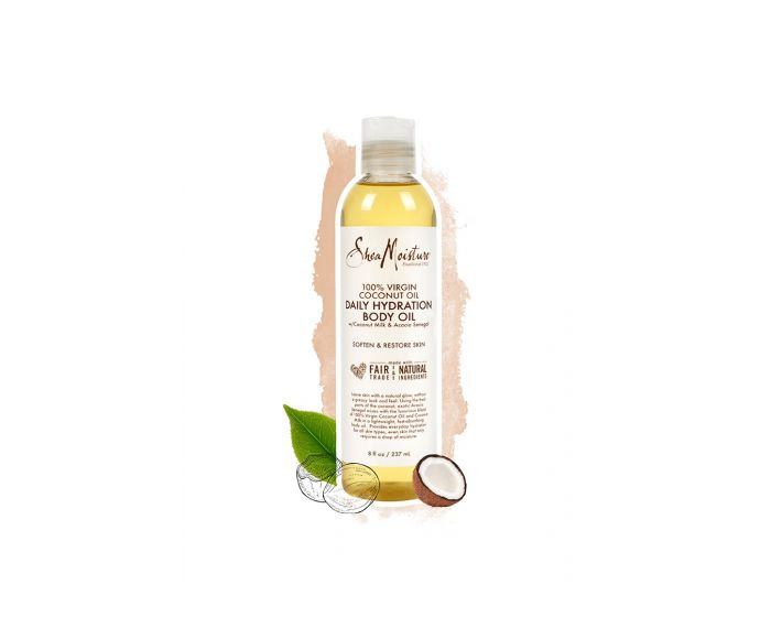 SheaMoisture 100% VIRGIN COCONUT OIL DAILY HYDRATION BODY OIL