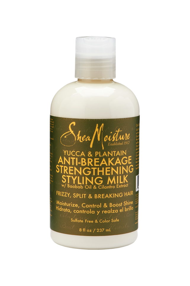 Sheamoisture YUCCA & PLANTAIN ANTI-BREAKAGE STRENGTHENING STYLING MILK 8oz