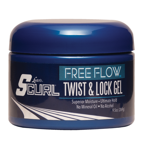 Lusters SCurl® Free Flow™ Twist & Lock Gel