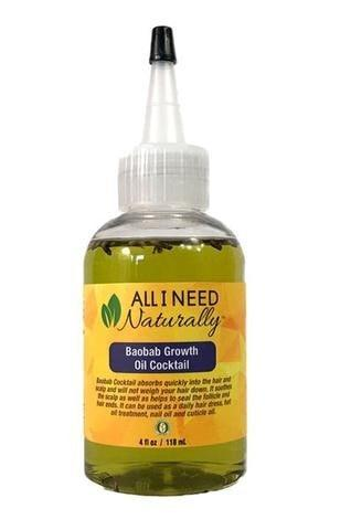 All I Need Naturally Baobab Growth Oil Cocktail 4oz