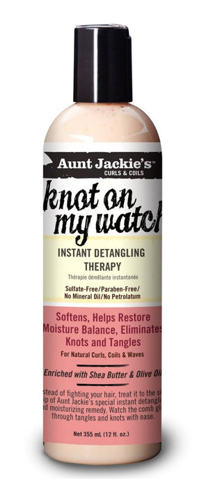 Aunt Jackies Knot on My Watch Detangler 12oz