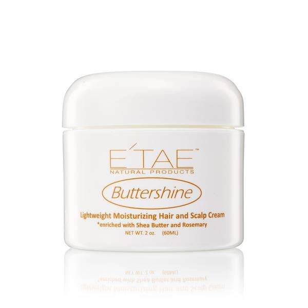 E'tae Buttershine Moisturizing Hair & Scalp Cream 2oz
