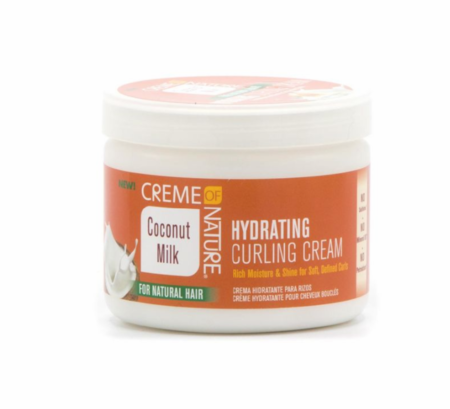Creme of Nature Coconut Milk For Natural Hair Hydrating Curling Cream 11.5oz