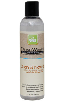 Taliah Waajid Clean & Natural Herbal Hair Wash 8 oz