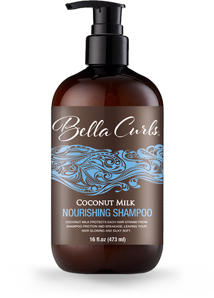 Bella Curls Coconut Milk Nourishing Shampoo 16oz