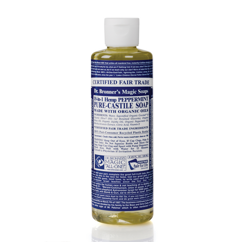 Dr. Bronner's 18-in-1 Hemp Rose Pure-Castile Liquid Soap