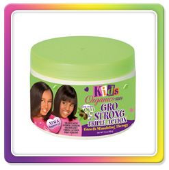 Kids Organics by Africa's Best GRO STRONG Triple Action Growth Stimulating Therapy 7.5oz