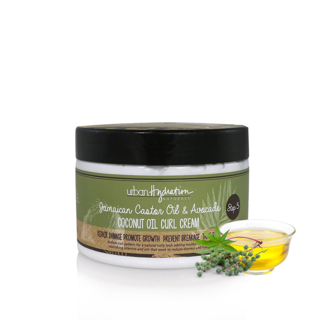 Urban Hydration JAMAICAN CASTOR OIL & AVOCADO CURL CREAM