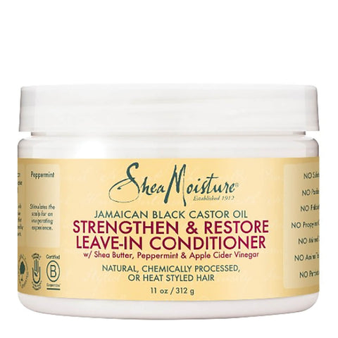 SheaMoisture Jamaican Black Castor Oil Strengthen, Grow & Restore Treatment Masque 12oz