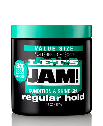 Softsheen Carson Lets Jam® SHINING AND CONDITIONING GEL - REGULAR HOLD