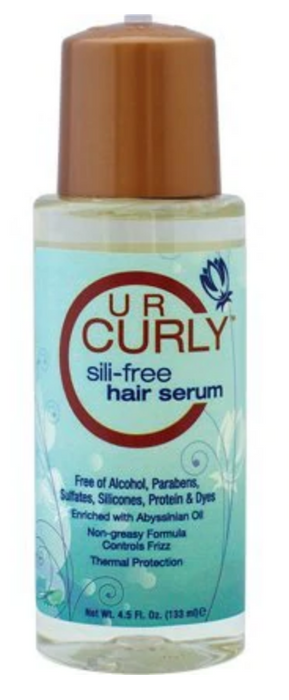 U R Curly Sili-Free Hair Serum