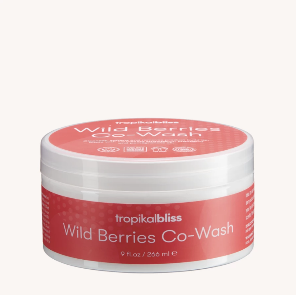 Tropikal Bliss Wild Berry Co Wash 266ml