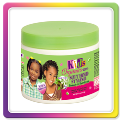 Kids Organics by Africa's Best Soft hold styling pomade and hairdress
