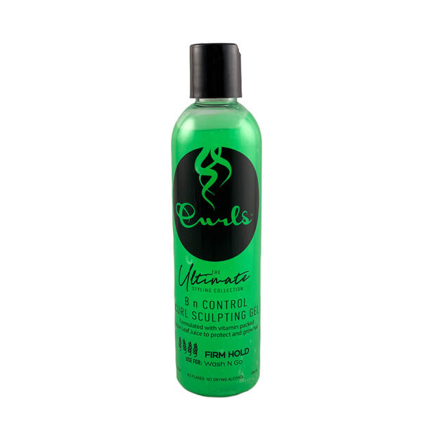 Curls Ultimate Styling Collection B N Control Curl Sculpting Gel 8oz-GRN
