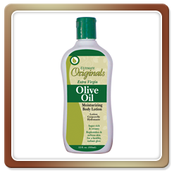 Ultimate Originals by Africa's Best OLIVE OIL MOISTURIZING BODY LOTION 12oz