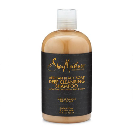 SheaMoisture African Black Soap Deep Cleansing Shampoo 13oz