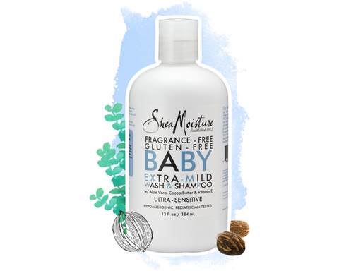 The Mane Choice White Willow Bark & Cucumber Baby Collection