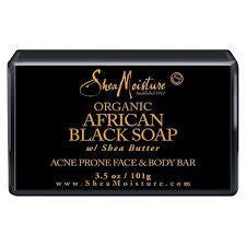 Kuza African Shea Butter Black Soap 8oz