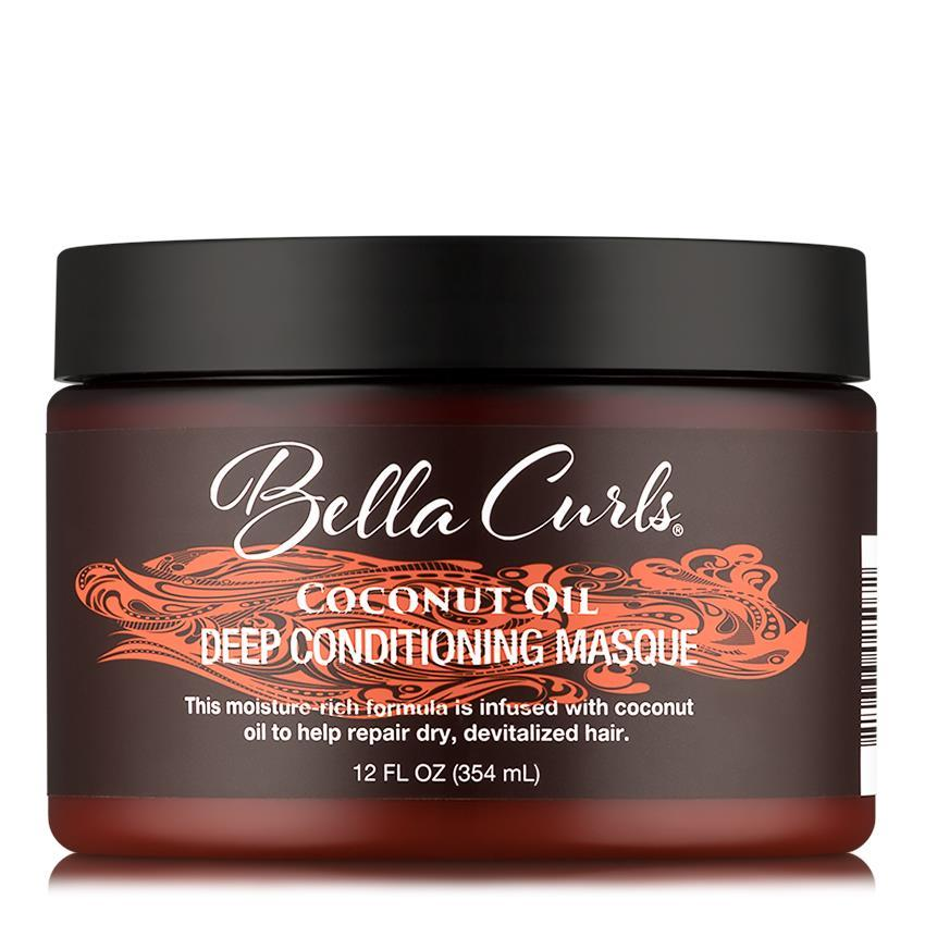 Bella Curls Coconut Oil Deep Conditioning Masque 12oz