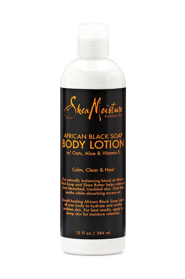 SheaMoisture African Black Soap Body Lotion 13oz