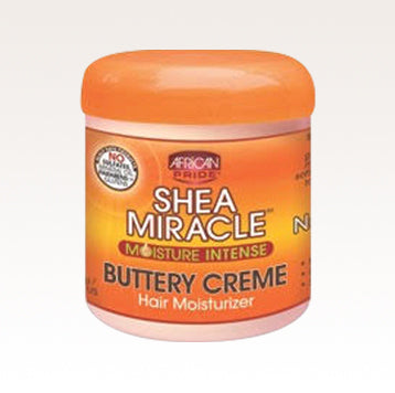 African Pride Shea Miracle Moisture Intense Buttery Creme 6oz