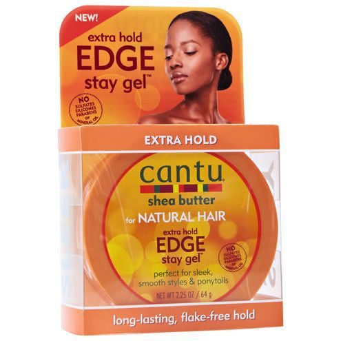 Cantu Natural Hair Extra Hold Edge Stay Gel 2.25oz