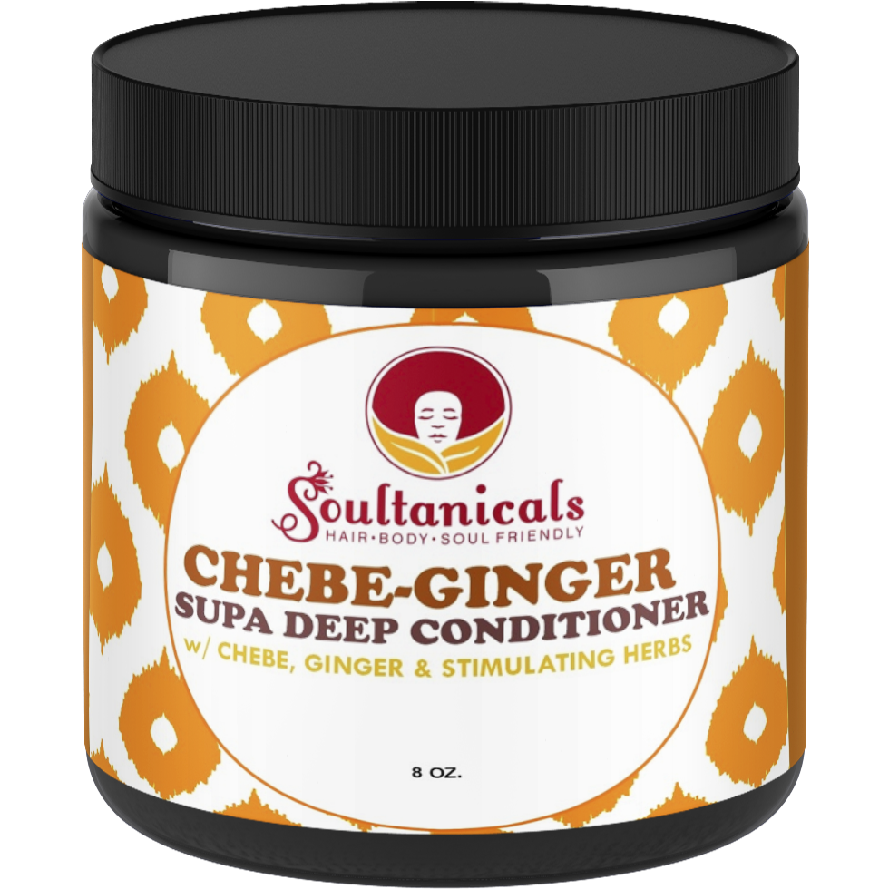 Soultanicals Chebe-Ginger Supa Deep Conditioner 8oz