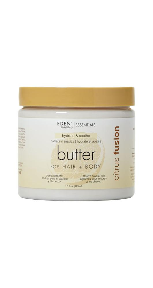 Eden BodyWorks Citrus Fusion Hair + Body Butter 16oz