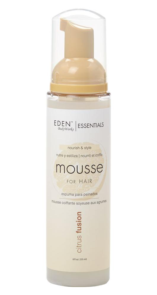 Eden BodyWorks Citrus Fusion Styling Mousse 8oz