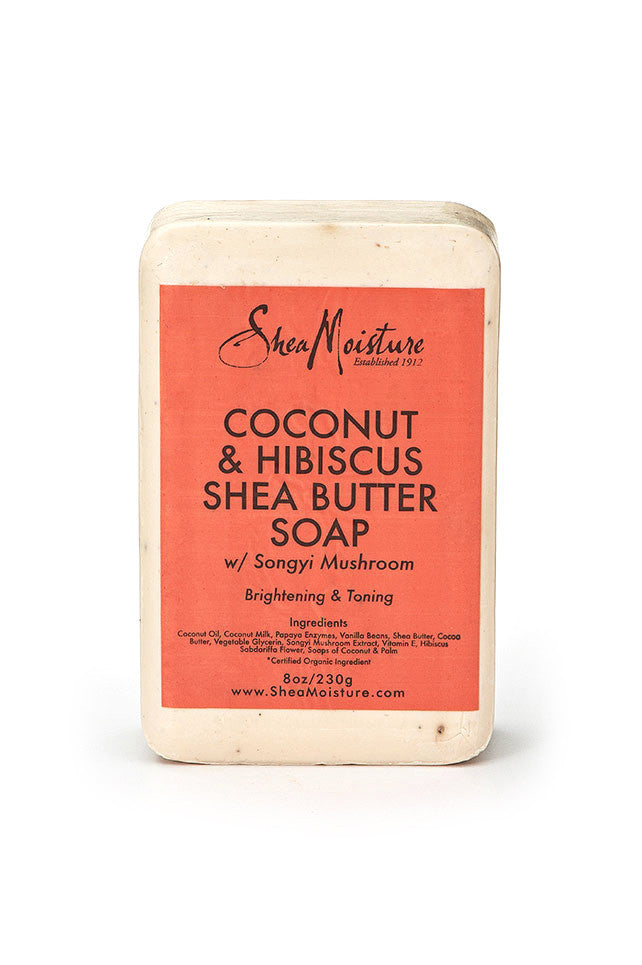 SheaMoisture Coconut & Hibiscus Shea Butter Soap 8oz